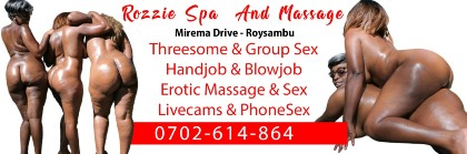 rozzie the porn star massage and escorts services on thika road mirema springs